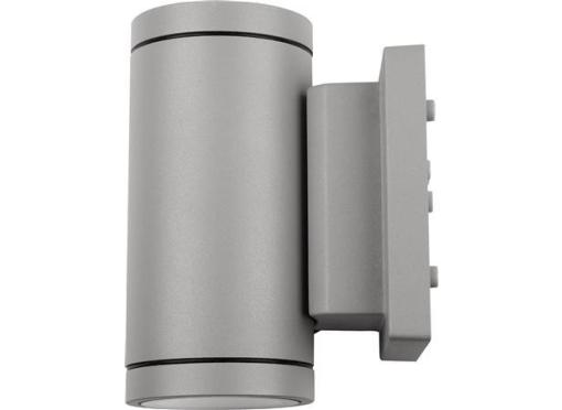Milo II udendørslampe 7,5W/830 2x400lm IP55 grå
