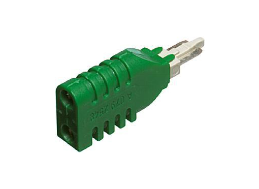 ADC krone lsa prøveadapter 2/2 grøn