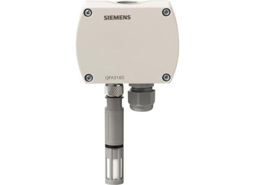 Siemens Rumføler qfa3171 fugtil temp. 4-20 ma