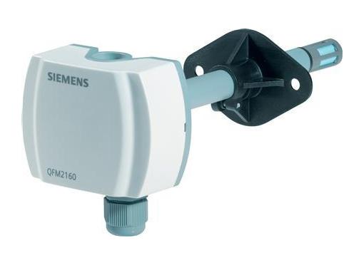Siemens Kanalføler qfm3171 fugtil temp. 4-20ma