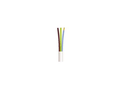 Downlight kabel 3G1,5 90 grader hvid