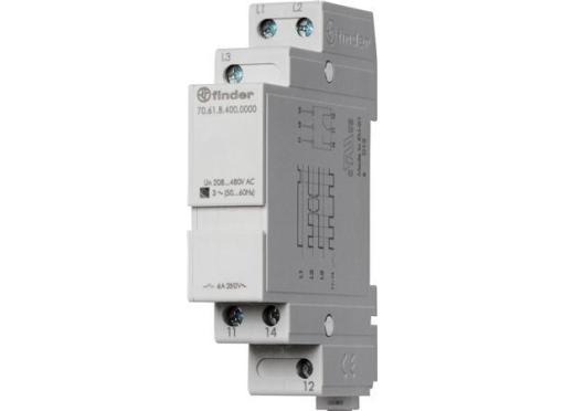 Finder Overvågningsrelæ 3fase 1co 400V AC