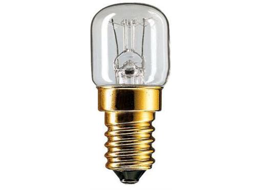 Philips Ovnlyslampe 15w 230 e14 klar blister