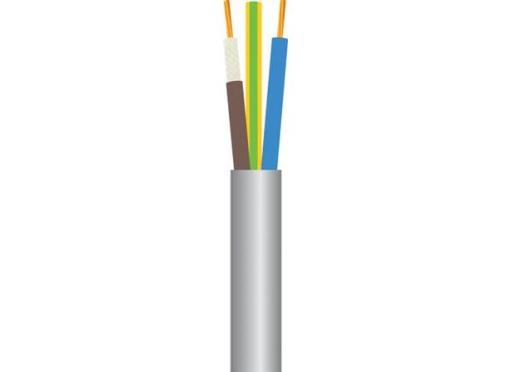 Kabel 3g0,75 brandsikker 400 meter tromle