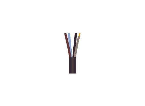 Kabel 4x6 gadelys sort 500tr