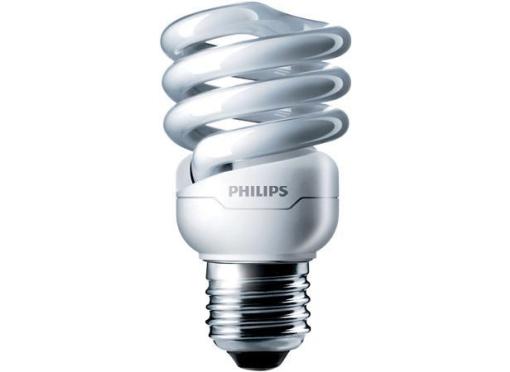 Philips Energisparepære Tornado spiRAL 12w ww e27 (60w)