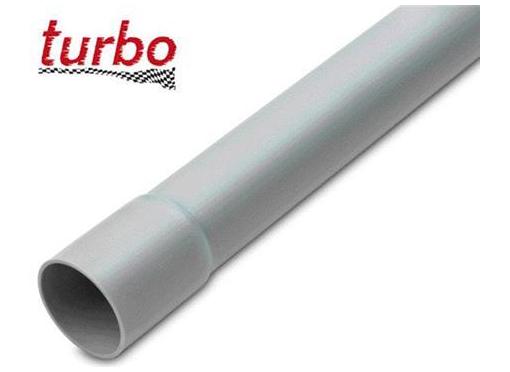 Plastrør 16MM grå med muffe PVC