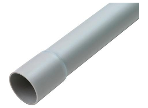 Plastrør / elektrikerrør, 20MM, HF, grå